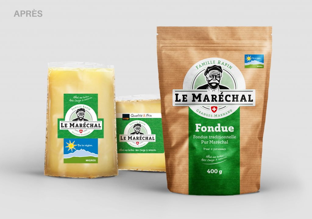 Le Maréchal / Packaging / After