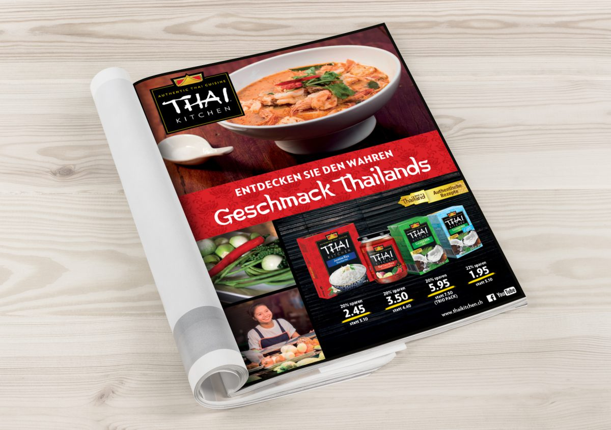 A new print campaign for Thai Kitchen