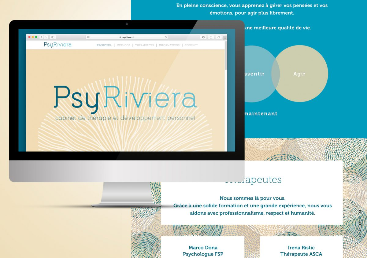 PsyRiviera, a new web site and identity for a new tomorrow